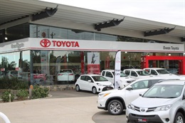 Owen Toyota Showroom Interior